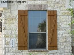 Exterior Window Shutters Designs
