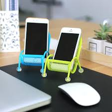 2018 newest mobile phone holder desktop lazy stand chair metal cell phone mounts bracket for iphone 5 5s 6 6s huawei samsung htc creative gift from wmall