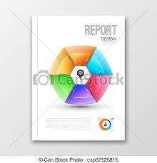 Brochure Graphic Design Background Business Design Background Cover Brochure Book Magazine Template Layout Mockup With Round Colorful Shape Geometric Shapes Info Graphic