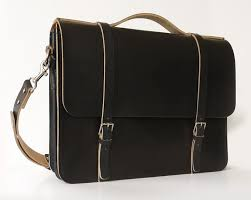 basader: <b>Black Leather Messenger</b> Bag Laptop Bag -<b>Women's</b> ...