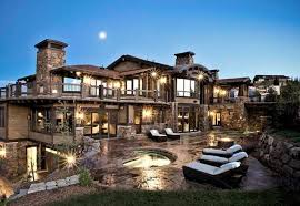 House Best Mountain Homes Luxury Homes At The Top Of World Comfortable