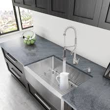 vigo sink reviews. Interesting Sink Vigo 33 Inch Farmhouse Stainless Steel 16 Gauge Single Bowl Kitchen Inside Sink Reviews M