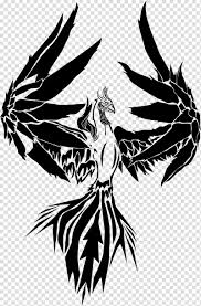 Drawing Phoenix Art Tattoo T Shirt Tribe Transparent Background Png