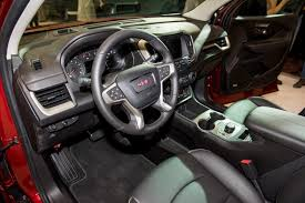 2018 gmc interior. delighful 2018 2018 gmc terrain denali interior live reveal 001 for gmc