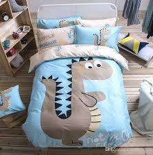 drop kids cartoon cotton bedding set design duvet cover jacquard four piece luxury home improvement bedding set