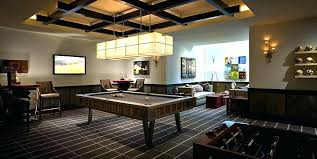 cool pool tables orange county table lights family room contemporary with carpet near beer themed