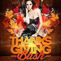 thanksgiving party flyer party flyer best party flyer templates