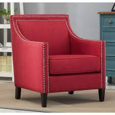 tanner red accent chair by greyson living
