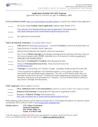 Sample Resume For Graduate School Application Objective Archives