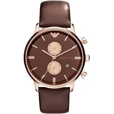 emporio armani mens chronograph watch ar0387