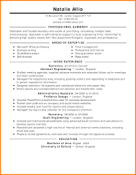 8 Work Resumes Examples Job Apply Form