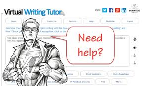grammar checker virtual writing tutor