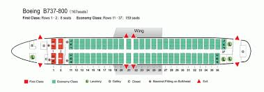 air china airlines boeing 737 800 aircraft seating chart airline rh seat plan for boeing 737 800 jet seat plan boeing 737 800 singapore