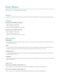 Education Qualification Resume Samples 0 Infoe Link
