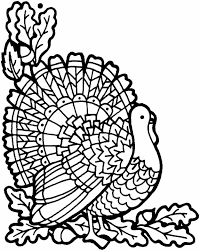 Small Picture Pages Of A Turkey Coloring Pages For Adults Day Turkey Kids Fried