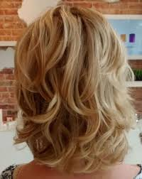 Mid Length Curly Hairstyle