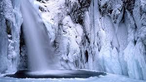 Japan Winter Waterfalls Wallpaper 103156