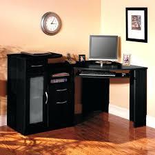 small corner office desk. Black Corner Office Desk Ideas Using Oak Wood Computer With Small E