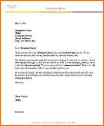 Blank Letter Template 8 Blank Business Letter Template Quote