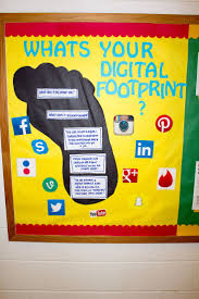 best ideas about computer bulletin boards digital footprint bulletin board oakland