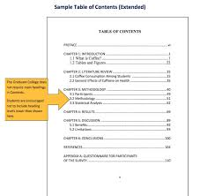 free table of contents template pdf 06
