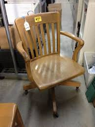 wooden swivel desk chair. Wooden Swivel Desk Chair With Arms I
