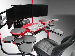 office chair futuristic cool computer chair. Futuristic Custom Desk: Vision One Computer Desk Office Chair Cool C