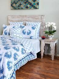 peacock bedding tales blue white and linens target