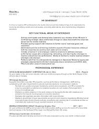 Sap Hr Resume Sample Awesome Hr Experience Resume Human Resource Resume Samples Sample Hr