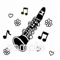 楽器 クラリネットイラストなら音楽小学校幼稚園向け保育園向け