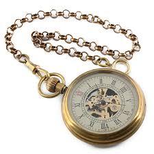 vintage golden men skeleton dial mechanical pocket watch wp107 vintage golden men skeleton dial mechanical pocket watch wp107