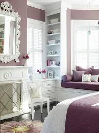 bedroom design for teenage girls. Lavender And White Bedroom With Gray Floors For Teenage Girls. Fashionista Decorating Style. Design Girls