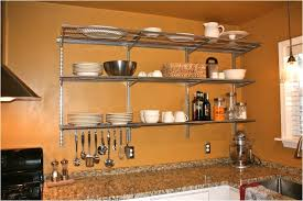 Small Picture Wall Mounted Kitchen Shelf 8 Classy Inspiration Full Image For
