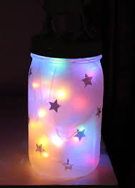 lighting jar. Diy-night-light-with-multi-color-lights-inside- Lighting Jar T