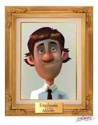 Employee Of The Month Photo Frame Employee Of The Month Banner Rr Collections