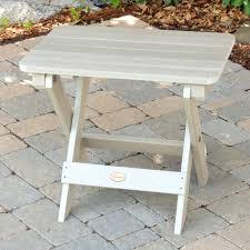 whitewash outdoor furniture. Highwood® Folding Adirondack Side Table - White Wash Whitewash Outdoor Furniture