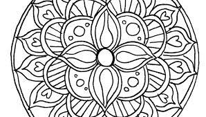 Free Coloring Pages Mandala Adult Coloring Free Mandala Coloring