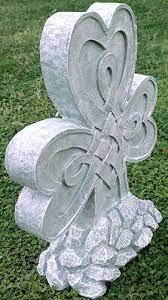 shamrock garden statue