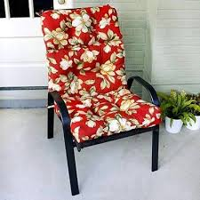 High Back Outdoor Chair Cushions Lovely