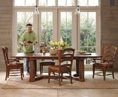 napa style whiskey oak dining collection