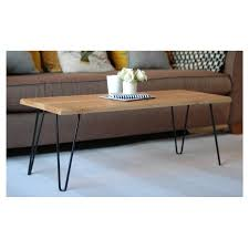 Jasper Coffee Table With Hairpin Legs