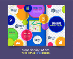 Free Templates For Publisher Trifold Brochure Templates Publisher Free Vector Download