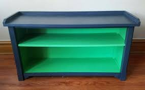 navy blue bench. Blue Bench Navy Wood Bedroom With Back Turquoise . A