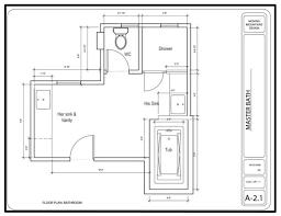 Delighful Master Bathroom Floor Plans Corner Tub Of Enthralling Design Using Throughout Models