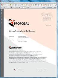 Technical Proposal Templates View Training Services Sample Proposal Training Proposal Sample