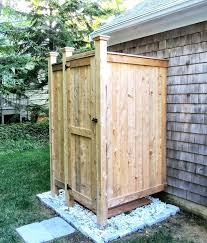 prefab outdoor shower enclosures outdoor shower knotty cedar boards prefab outdoor shower stall