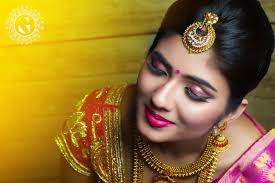 south indian bridal makeup pictures