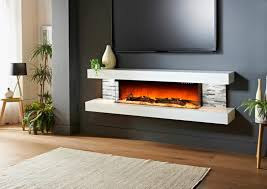 inspirational electric fireplace design