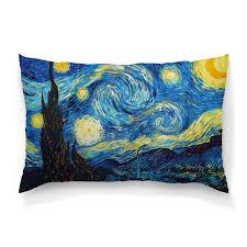 <b>Подушка</b> 60×<b>40 см</b> с полной запечаткой Звёздная ночь - <b>Printio</b>