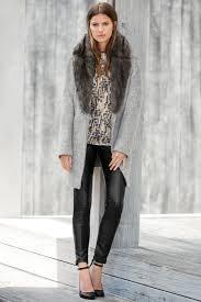 faux fur collar coat karen millen